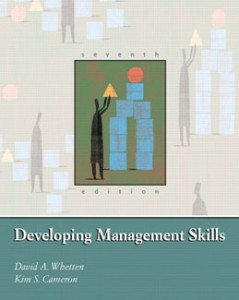 Test Bank for Developing Management Skills, 7th Edition: Whetten