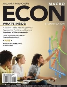 Test Bank for ECON for Macroeconomics, 1 Edition : McEachern
