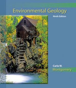 Test Bank for Environmental Geology, 9th Edition: Montgomery