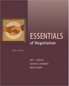 Test Bank for Essentials of Negotiation, 5th Edition: Roy J. Lewicki