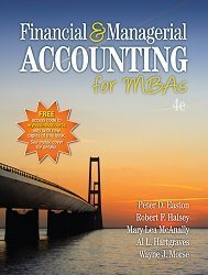 Test Bank for Financial and Managerial Accounting for MBAs 4th Edition Easton