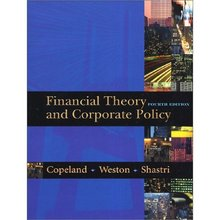 Financial Theory and Corporate Policy Copeland 4th Edition Solutions Manual
