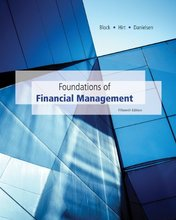 Foundations of Financial Management Block 15th Edition Solutions Manual