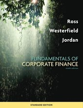 Fundamentals of Corporate Finance Ross 9th Edition Test Bank
