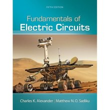 Fundamentals of Electric Circuits Alexander 5th Edition Solutions Manual