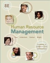 Human Resource Management Noe 8th Edition Test Bank
