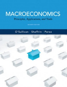 Test Bank for Macroeconomics Principles Applications and Tools, 7th Edition: OSullivan