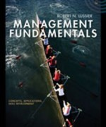 Test Bank for Management Fundamentals Concepts Applications Skill Development, 5th Edition: Lussier