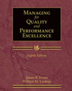 Test Bank for Managing for Quality and Performance Excellence, 8th Edition: Evans