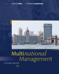 Test Bank For Multinational Management, 5 edition: John B. Cullen