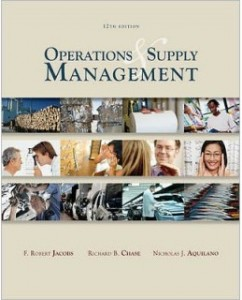 Solutions manual for operations management sustainability and supply ….
