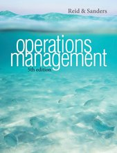 Operations Management Reid 5th Edition Test Bank