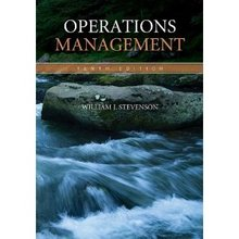 Operations Management Stevenson 10th Edition Solutions Manual