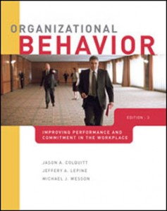 Test Bank for Organizational Behavior Improving Performance and Commitment in the Workplace, 2nd Edition: Colquitt