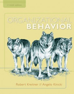Test Bank for Organizational Behavior, 9th Edition: Kreitner