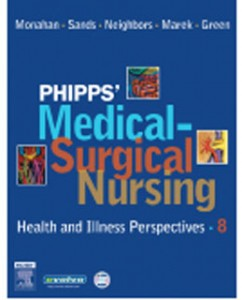 Test Bank for Phipps Medical Surgical Nursing Health and Illness Perspectives, 8th Edition: Monahan