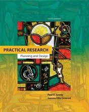 Practical Research Planning and Design Leedy 10th Edition Test Bank