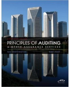 Test Bank for Principles of Auditing and Other Assurance Services, 18th Edition: Ray Whittington