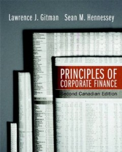 Test Bank for Principles of Corporate Finance, 2nd Canadian Edition : Gitman
