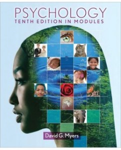 Test Bank for Psychology in Modules, 10th Edition: David G. Myers