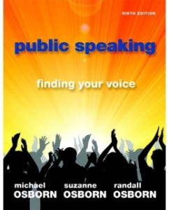 Test Bank for Public Speaking: Finding Your Voice, 9th Edition: Michael Osborn