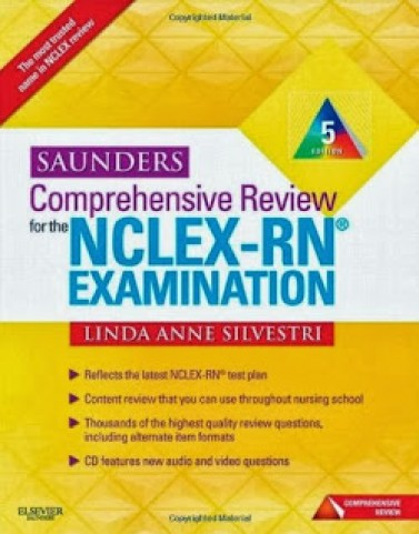 Saunders Comprehensive Review for the NCLEX-RN Examination Silvestri 5th Edition Test Bank