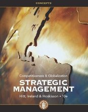 Strategic Management Concepts Competitiveness and Globalization Hitt 10th Edition Solutions Manual