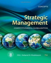 Strategic Management Concepts Competitiveness and Globalization Hitt 11th Edition Solutions Manual