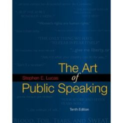 Test Bank for The Art of Public Speaking, 10th Edition : Lewis