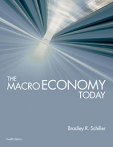 Test Bank for The Macro Economy Today, 12th Edition: Schiller