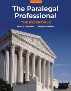 Test Bank for The Paralegal Professional: The Essentials, 3rd Edition : Thomas F. Goldman