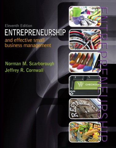 Test Bank for Entrepreneurship and Effective Small Business Management, 11/E 11th Edition Norman M. Scarborough, Jeffrey R. Cornwall