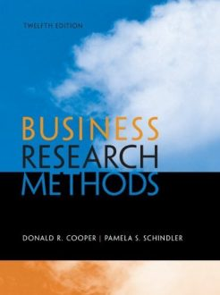 Business Research Methods Cooper 12th Edition Test Bank