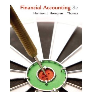 Financial Accounting Harrison 8th Edition Test Bank