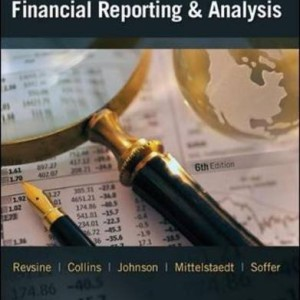 Financial Reporting and Analysis Revsine 6th Edition Solutions Manual