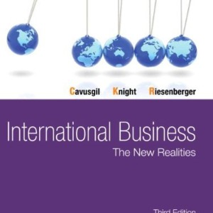 International Business The New Realities Cavusgil 3rd Edition Test Bank