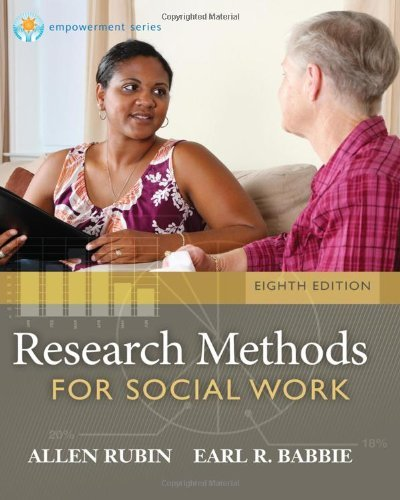 Research Methods for Social Work Rubin 8th Edition Test Bank