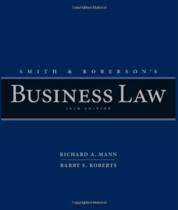 Smith and Roberson's Business Law Mann 16th Edition Test Bank