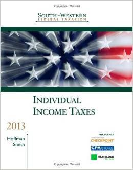 Solution Manual For South-Western Federal Taxation: Individual Income Taxes 2013 36 Edition by William H., Jr., Ph.D. Hoffman , James E., Ph.D. Smith , James H., Ph.D. Boyd , D. Larry, Ph.D. Crumbley