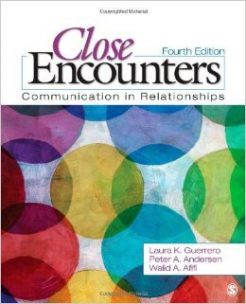 Test Bank For Close Encounters: Communication in Relationships Paperback Fourth Edition by Laura K. Guerrero, Peter A. Andersen, Walid A Afifi