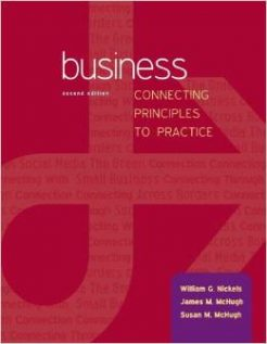 Test Bank for Business Connecting Principles to Practice 2nd Edition William Nickels Download