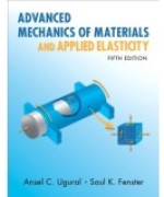 Solutions Manual to accompany Advanced Mechanics of Materials and Applied Elasticity 5th edition 9780137079209