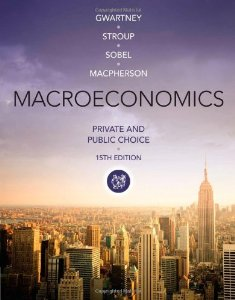 Test Bank for Macroeconomics Private and Public Choice 15th Edition James D Gwartney Download