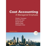 Test bank for Cost Accounting: A Managerial Emphasis 13e 9780136126638