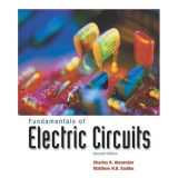 Solutions Manual to accompany Fundamentals of Electric Circuits 2nd edition 9780072463316
