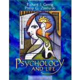 Solutions Manual to accompany Psychology and Life 16th edition 9780205335114