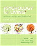 Test bank for Psychology for Living 11th edition