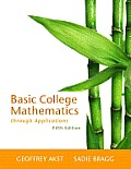 Solutions Manual to accompany Basic College Mathematics through Applications 5th edition 032172951x