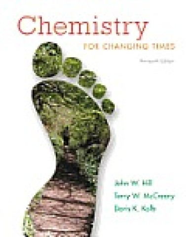 Test bank for Chemistry: for Changing Times 13e 0321750101