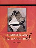 Solutions Manual to accompany Fundamentals of Thermodynamics 6th edition 9780471152323